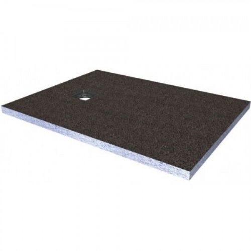Abacus Elements Rectangular Standard Shower Tray 30mm High With Ended Drain - 1200mm x 900mm